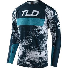 Troy Lee Designs Sprint Ultra Jersey, grime marine/blue bird